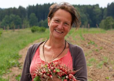 Solawi Chiemgau | Die Demeter-Landwirtin Kristine Rühl